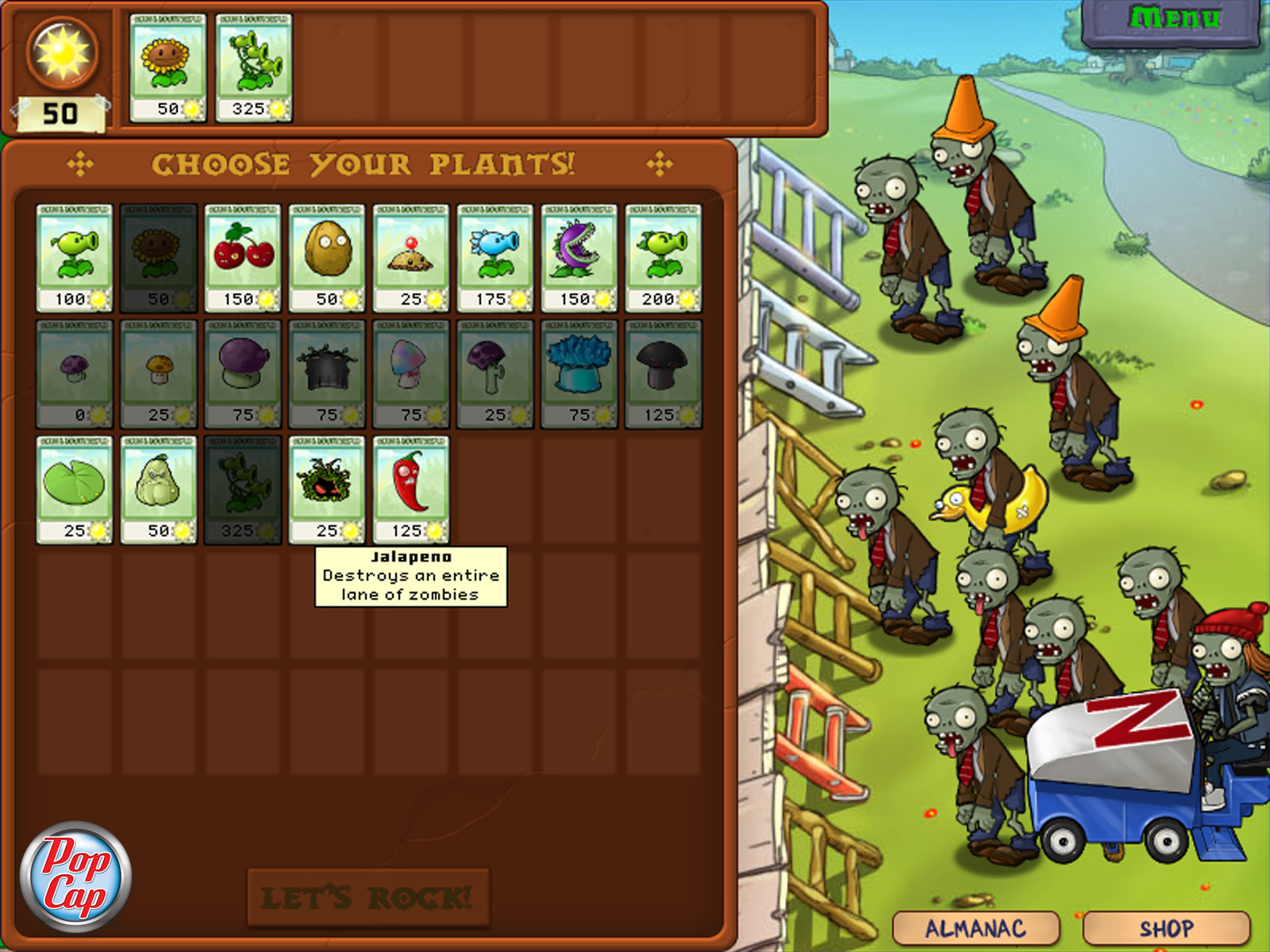 Plants vs  Zombies: Game of the Year Edition - Lutris