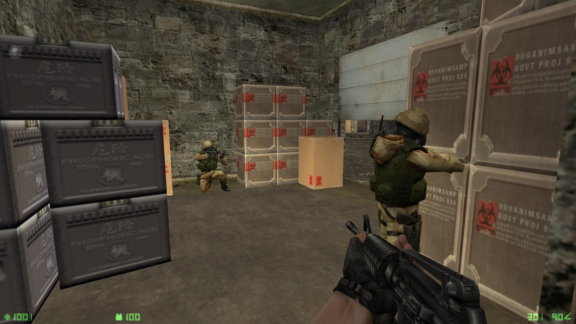 Counter-Strike: Condition Zero Deleted Scenes - Lutris