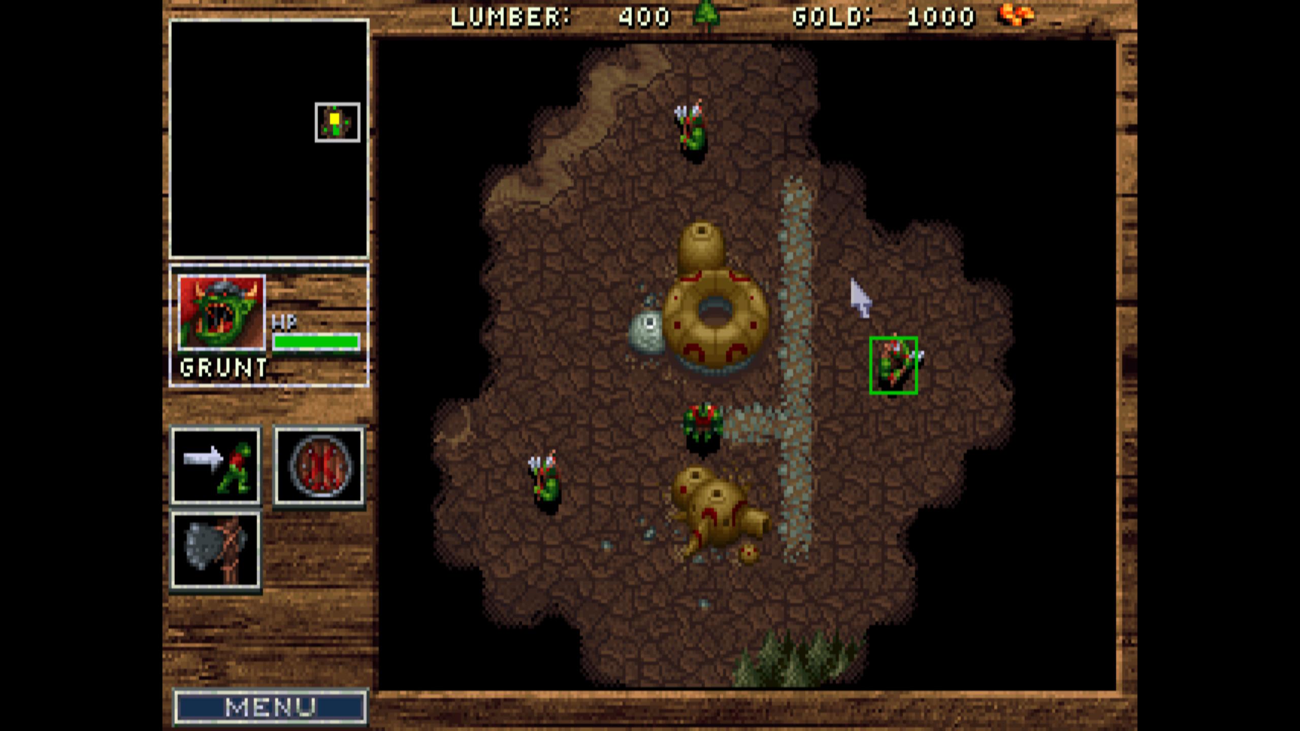 Warcraft Orcs Humans Lutris