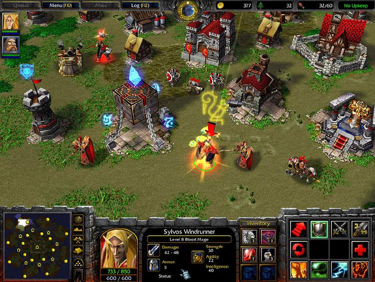 Warcraft 3 Frozen Throne Юниты