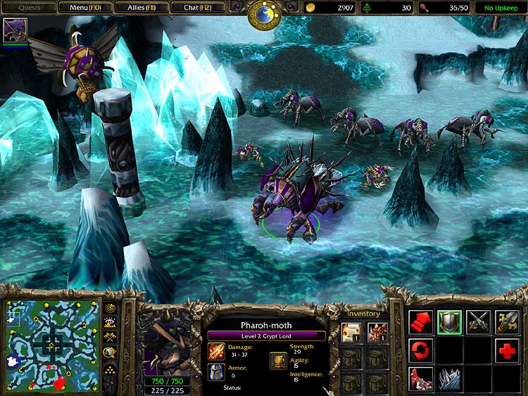 warcraft frozen throne download
