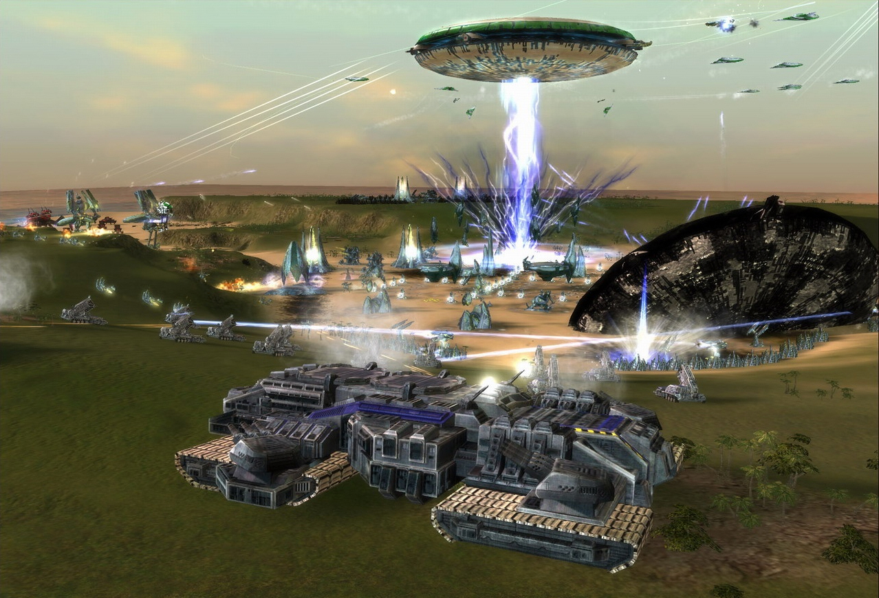 UEF Deflector Wall in game image Revamp Expansion Mod RVE for
