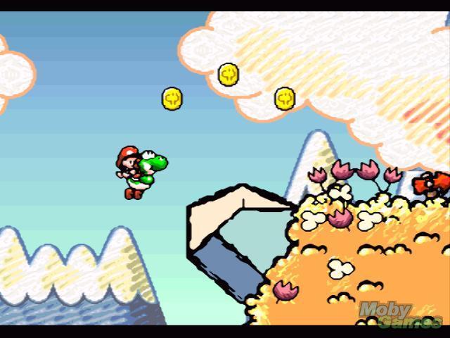 Super Mario World 2: Ilha de Yoshi - SNES,