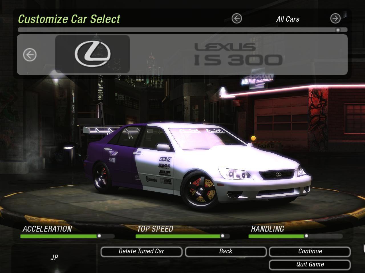 Need For Speed Underground 2 Lutris