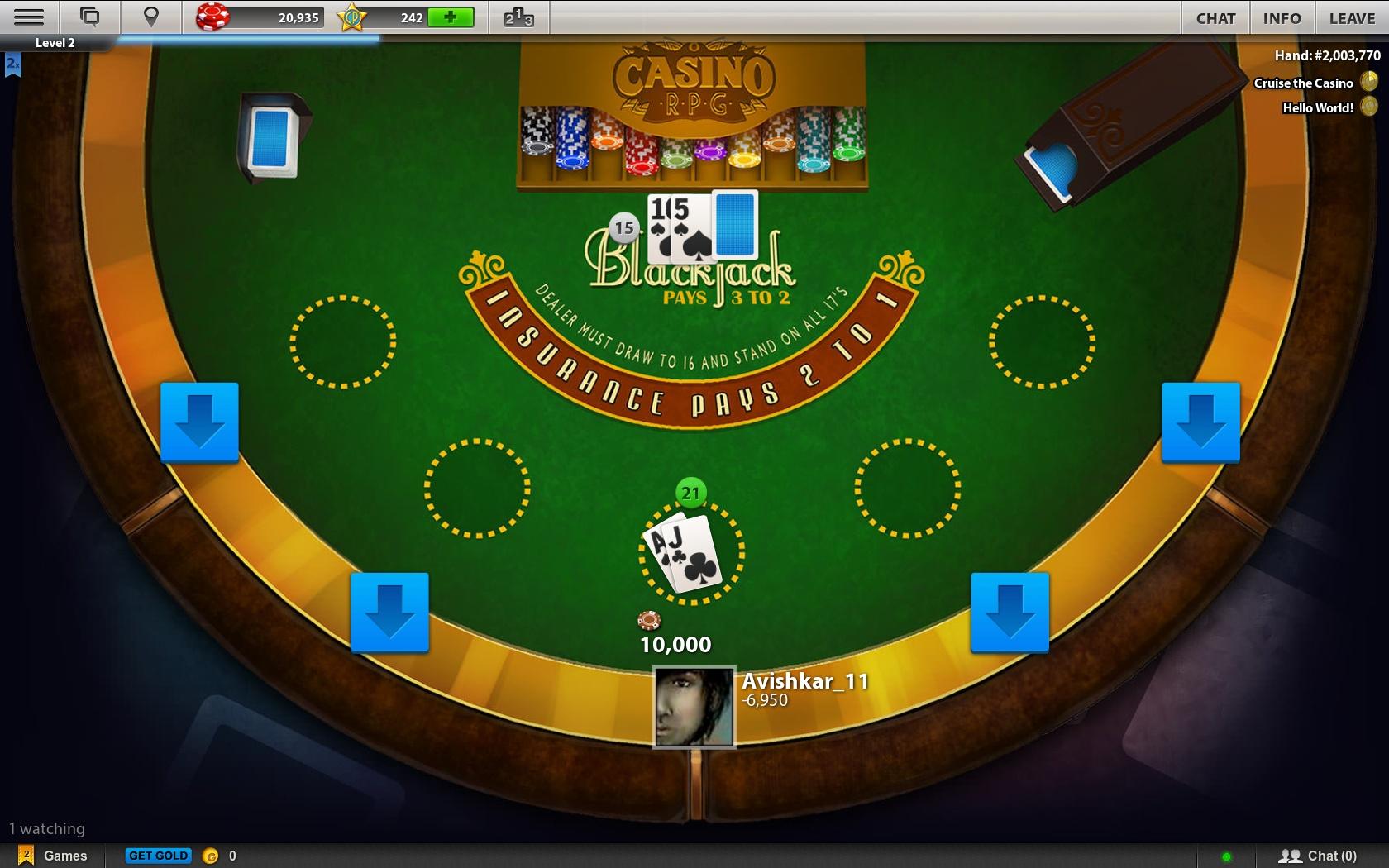 Casino rpg games