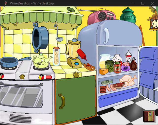 My Disney Kitchen Lutris