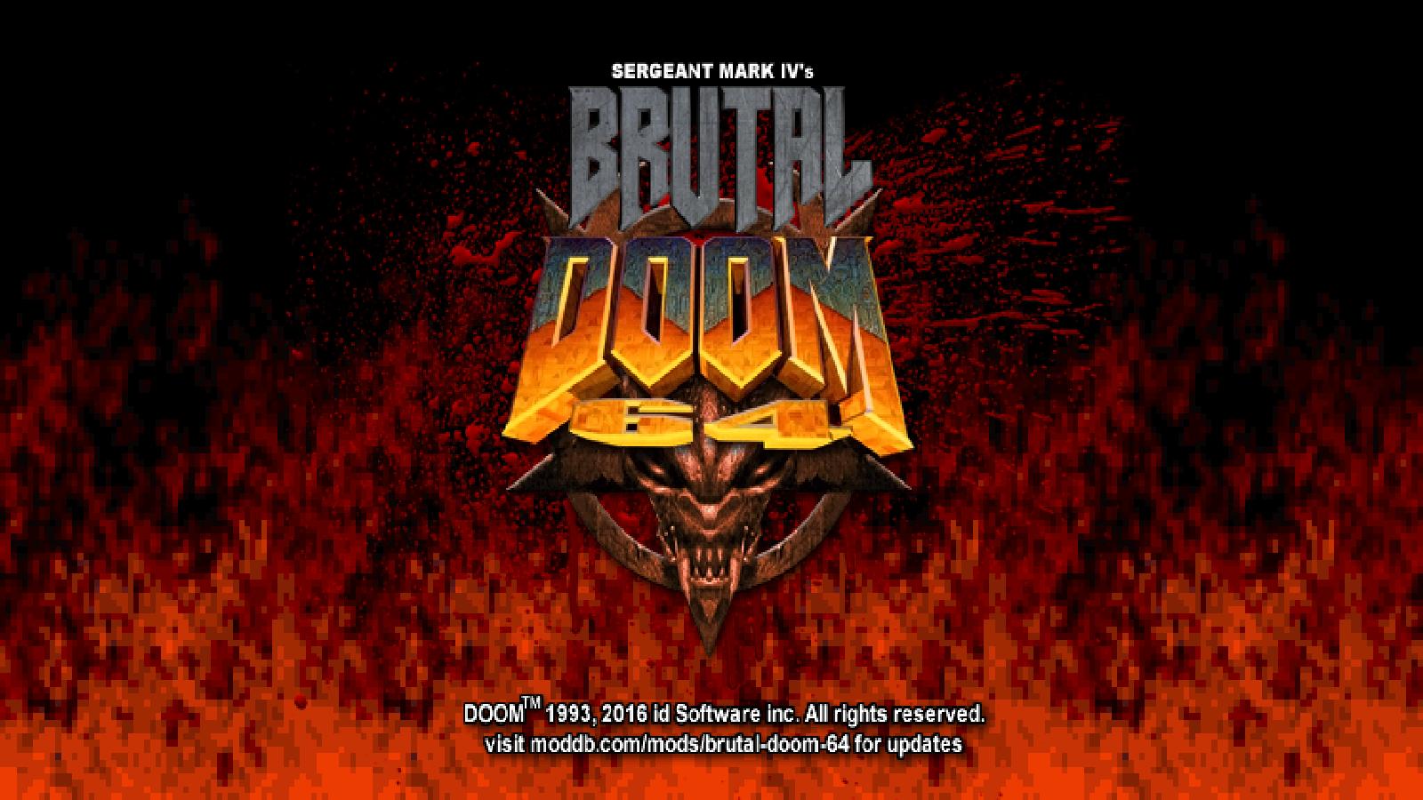 Brutal Doom 64 - Lutris