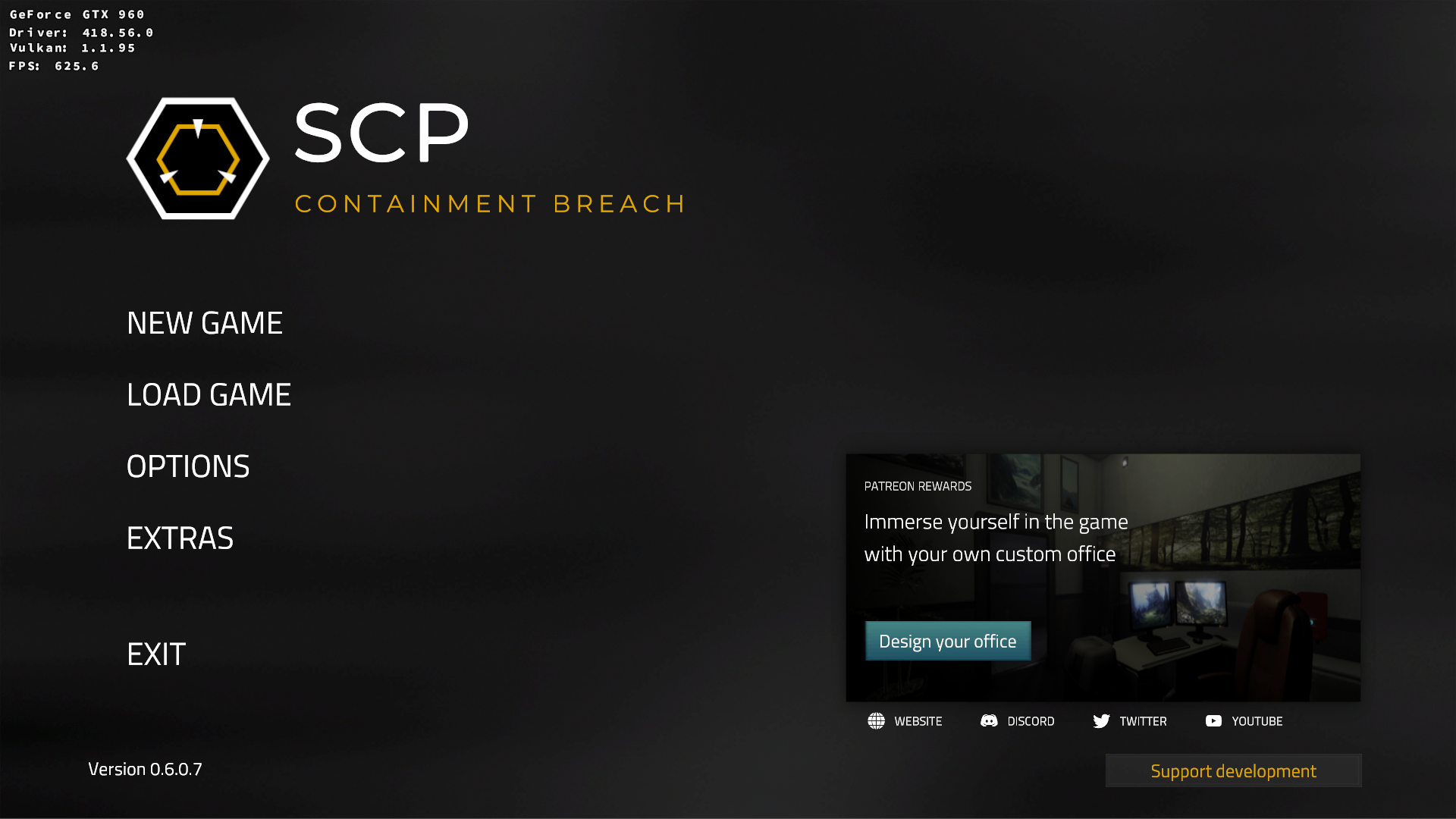 SCP: Containment Breach - Unity Remake - Lutris