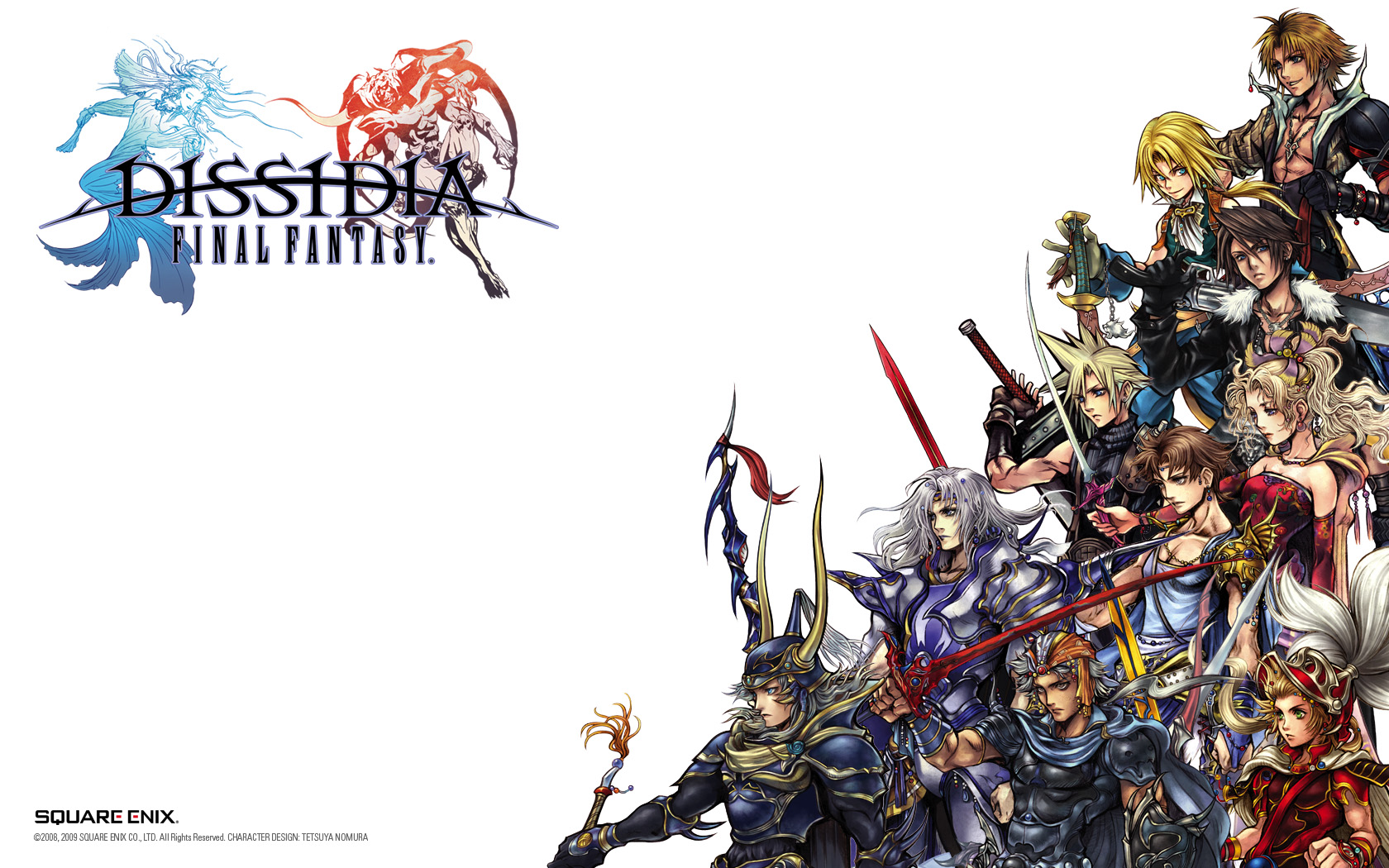 Dissidia Final Fantasy NT Out Now