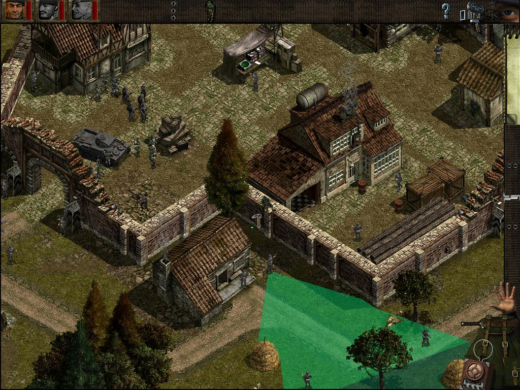 Commandos: bel – html5 – recreating the classic 2. 5d real time.