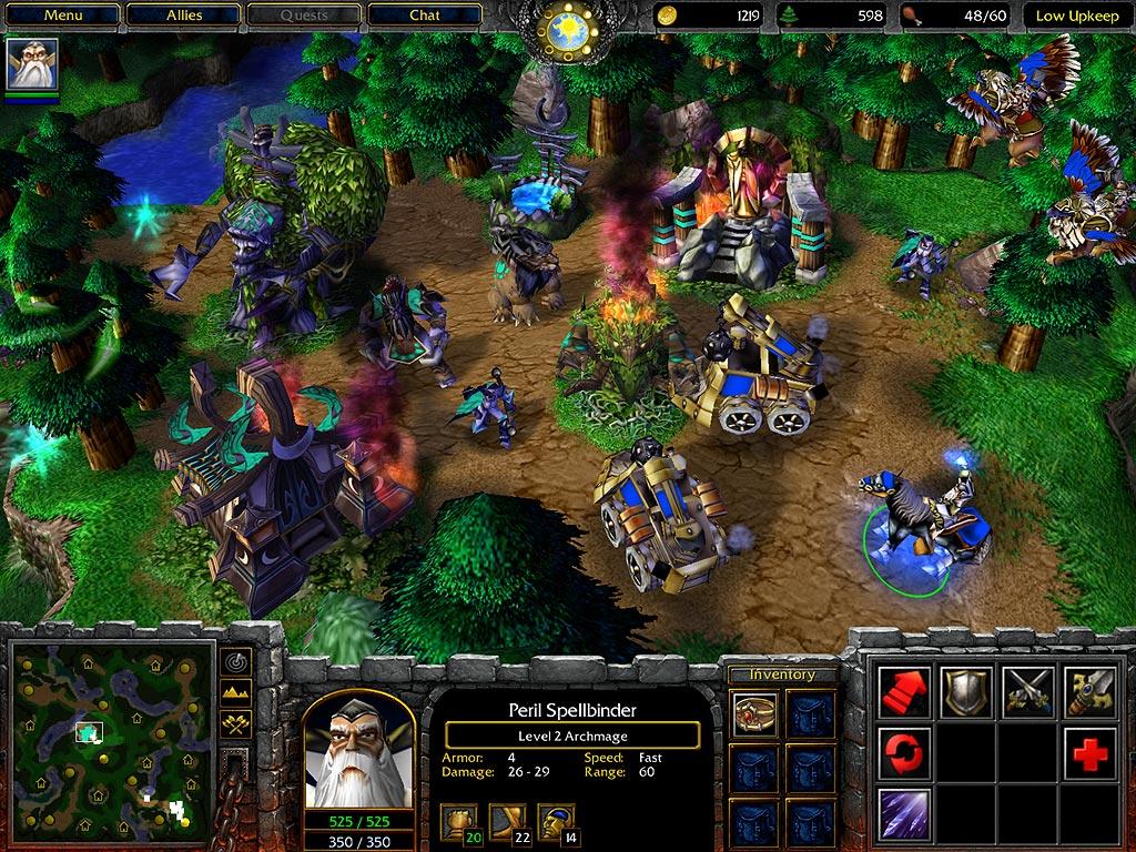Warcraft III: Reign of Chaos - Lutris