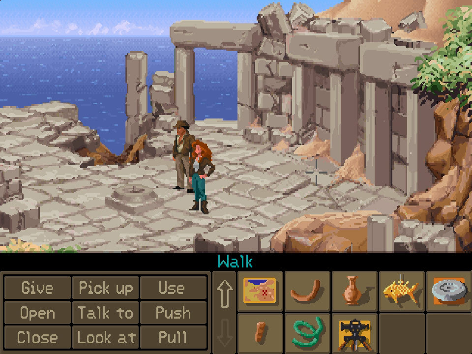 Indiana jones and the fate of atlantis (demo): free download.