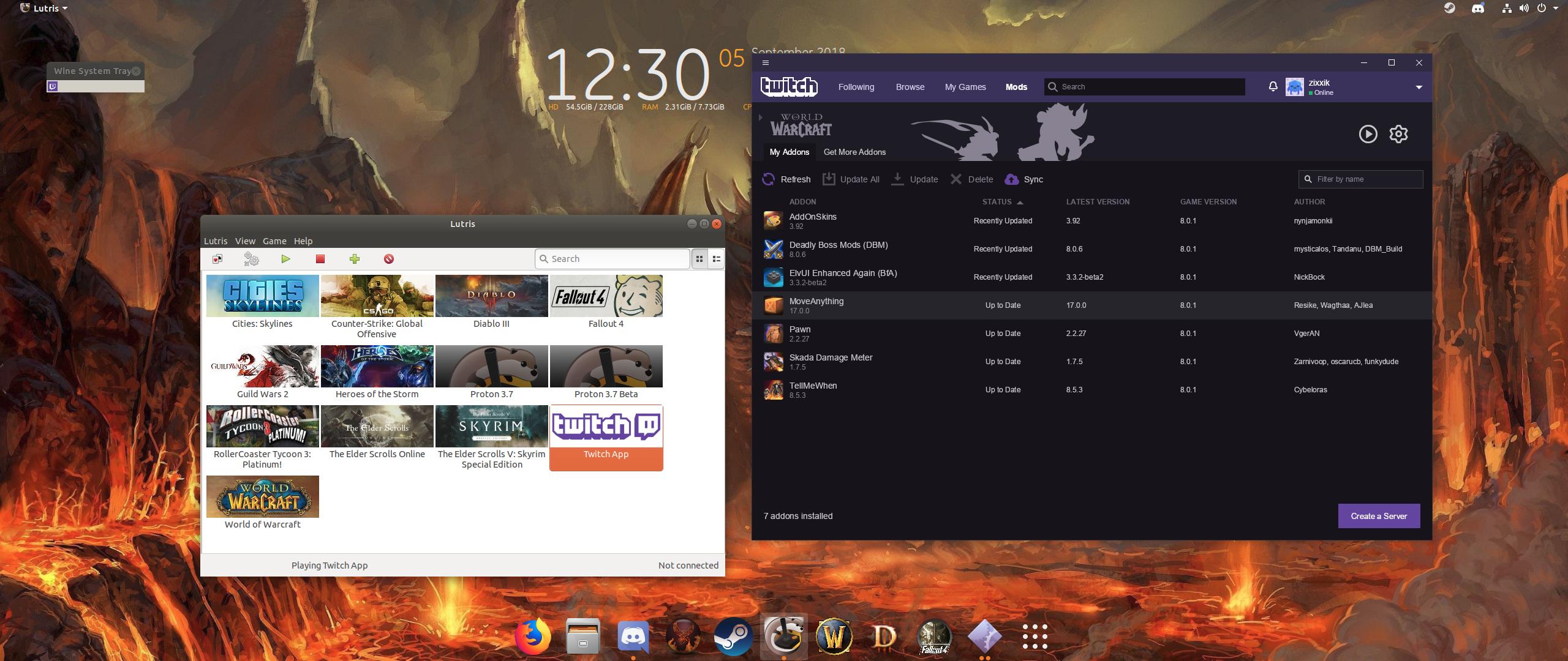 Twitch App - Lutris
